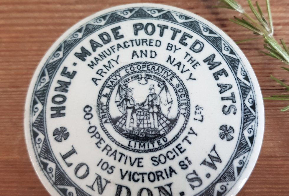 Antique Pot Lid