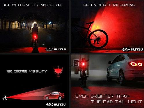Blitzu 120T의 USB 충전식 LED 자전거 후방 라이트(48000원)
