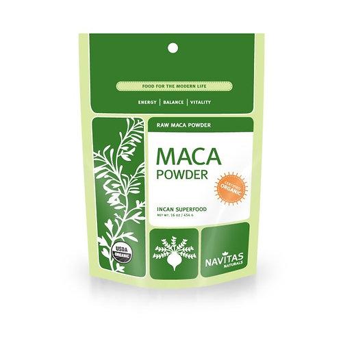 Navitas Naturals, 유기농, 마카 파우더, 생, 16 온스 (454 g)