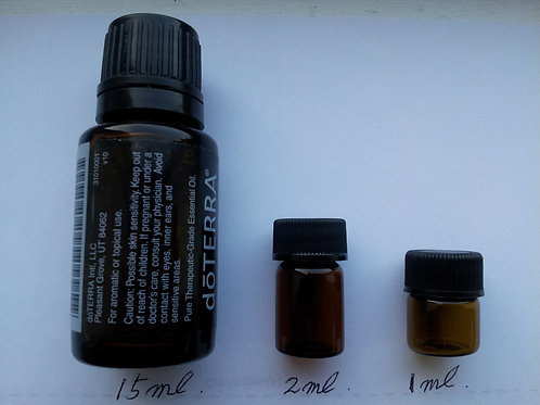 Slim and Sassy Essential Oil samples(1ml,2ml)