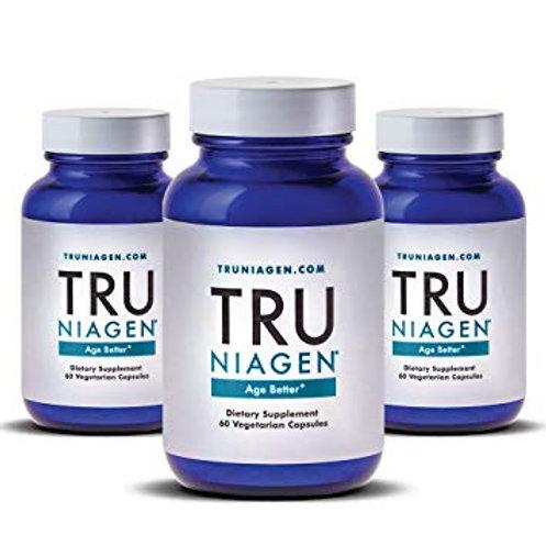 3병*트루니아젠 니코티나마이드 리보사이드 고급 NAD + 부스터 | 비타민 B3 | 차세대 셀룰러