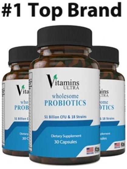 3병,비타민 울트라 건강 프로바이오틱스 30캡슐