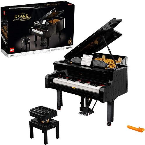 21323 모델 조립 키트, 자신 만의 연주 가능한 그랜드 피아노 만들기, 피아니스트, 음악가, 음악 애호가 취미 생활 흥미로운 DIY 프로젝트
