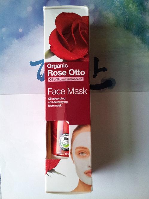 Organic Doctor 로즈 오토 얼굴 125ml 마스크