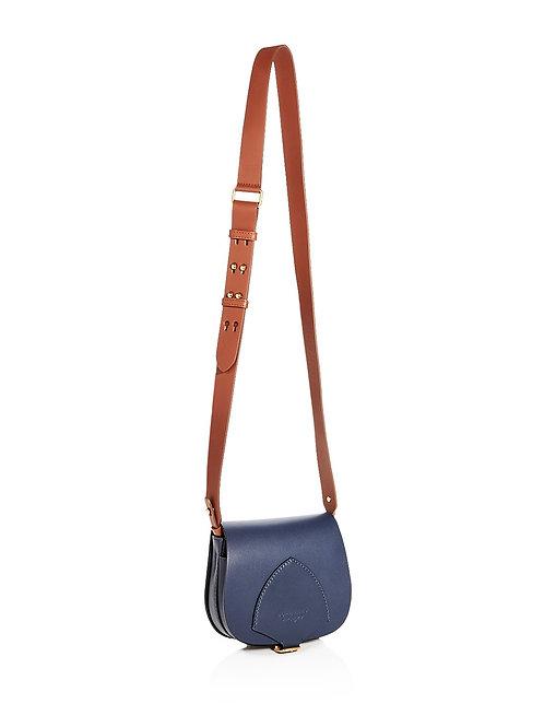 버버리 Mini Leather Saddle Bag