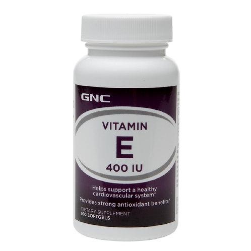GNC 비타민 E 400 IU, 소프트 젤 캡슐 100 개