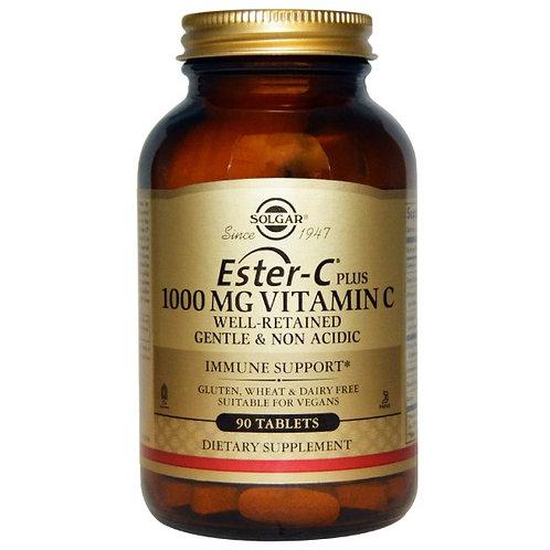 솔가,이스터 씨 Plus, 1000 mg 비타민 C, 90 Tablet