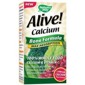 내쳐스웨이 칼슘 Alive! Calcium Bone Formula 120 tablet
