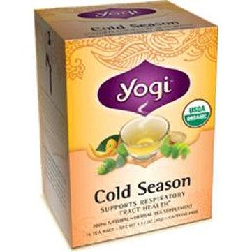 요기 올개닉 티 Yogi Cold Season Organic Tea 16 bags