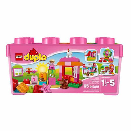 LEGO DUPLO All in One - 핑크 박스 Fun Building Set