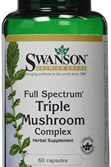 스완손 버섯 복합 추출물 면역력 개선 Triple Mushroom Complex
