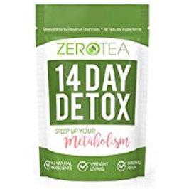 디톡스,웨잇로스 티 Zero Tea 14 Day Detox Tea, Weight Loss Tea, Teatox Herbal...