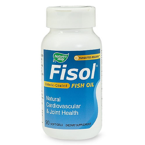 Nature's Way Fisol Enteric-Coated Fish Oil, Softge
