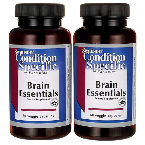 스완손비타민 뇌 영양제-브레인 에센셜-2병