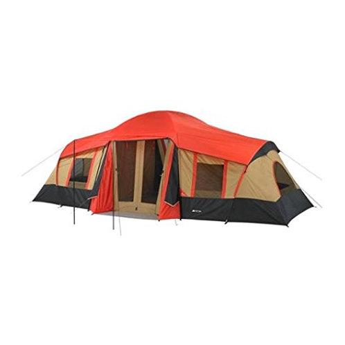 오작 트레일 10인 3룸 캐빈 텐트 하이킹 캠핑 등산 돔텐트
