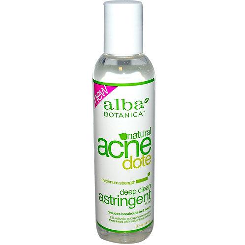 Alba Botanica, Natural Acne Dote, 딥 클린 아스트리젠트 , 오일