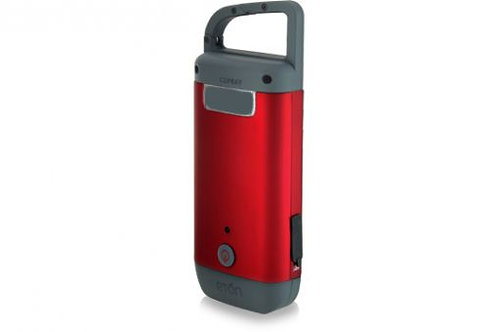 ClipRay/Self-Powered Hand Crank Flashlight/Cell Phone Charger