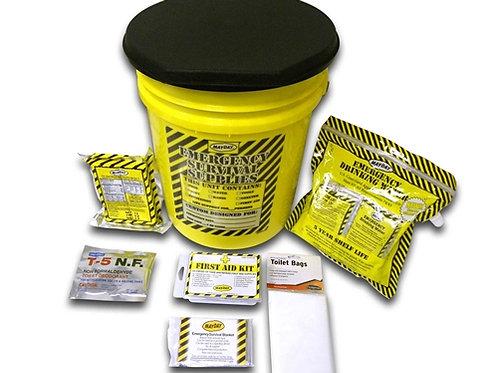 1 Person - Economy Emergency Honey Bucket Kit
