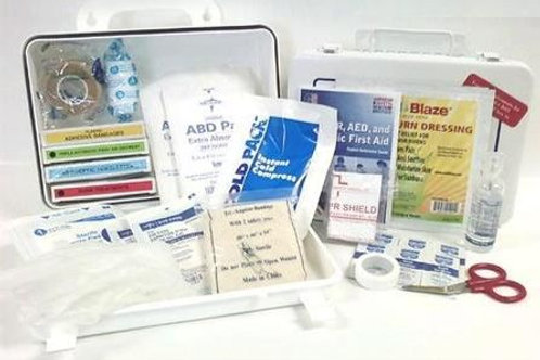 First Aid Kit - Class A - First Aid Kit - Plastic Cabinet - ANSI 2015