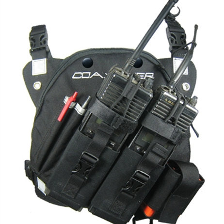 DR-1 COMMANDER DUAL RADIO CHEST HARNESS (RP201)