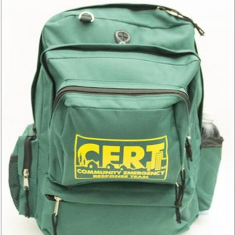 CERT Deluxe Backpack - Empty