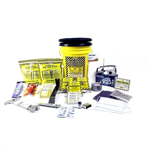 3 Person - Deluxe Emergency Honey Bucket Kit