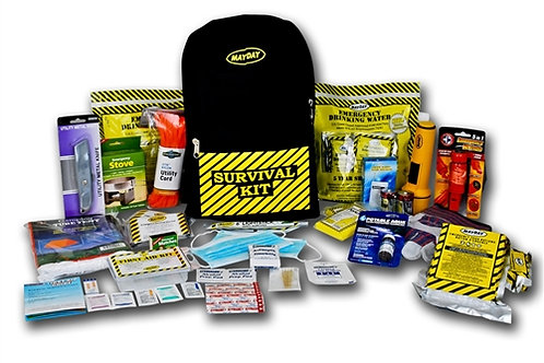 2 Person - Deluxe Emergency Backpack Kit