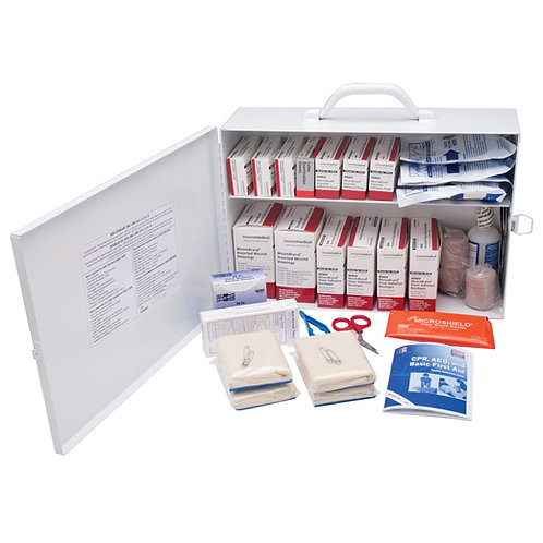 First Aid Kit 100 Person - Steel Case