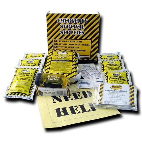 3 Day Kit w/ Flashlight & First Aid Kit