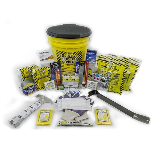 2 Person - Deluxe Emergency Honey Bucket Kit