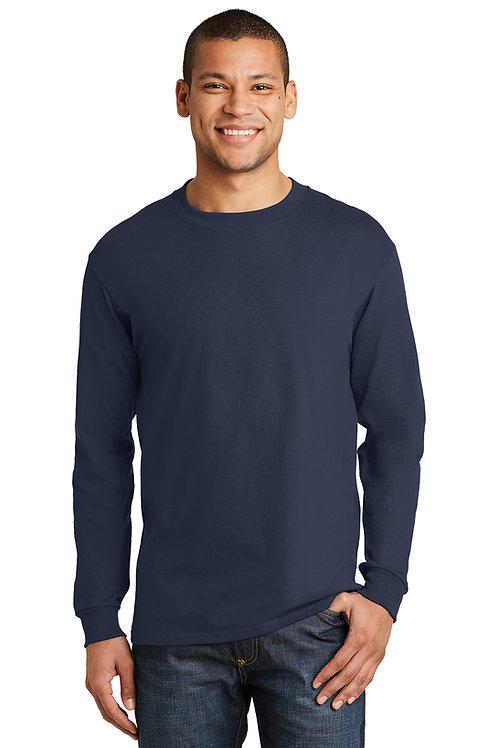 Merritt College Fire Academy Long Sleeve T-shirt - Navy