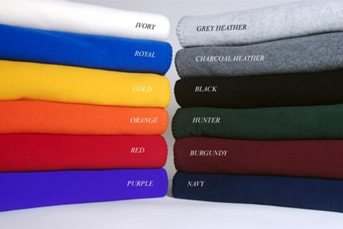 "Fleece Stadium Blanket - 50"" x 60"" (12 pack)"