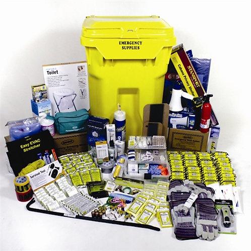 20 Person - Deluxe Office Emergency Kit w/Wheels