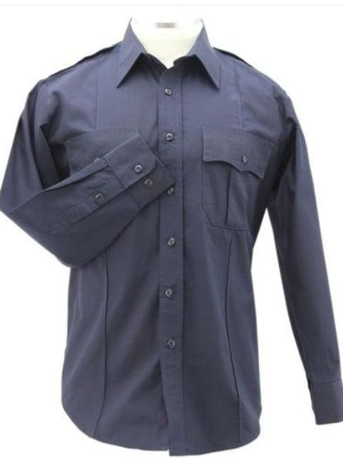 Merritt College Fire Academy Long Sleeve UNIFORM SHIRT-Dark Navy