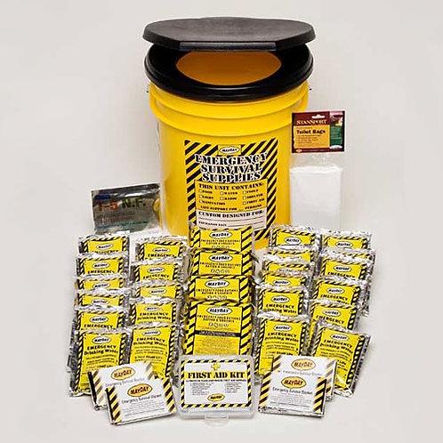 4 Person - Economy Emergency Honey Bucket Kit
