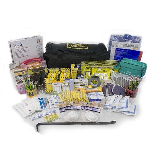 10 Person - Deluxe Office Emergency Kit w/Wheels
