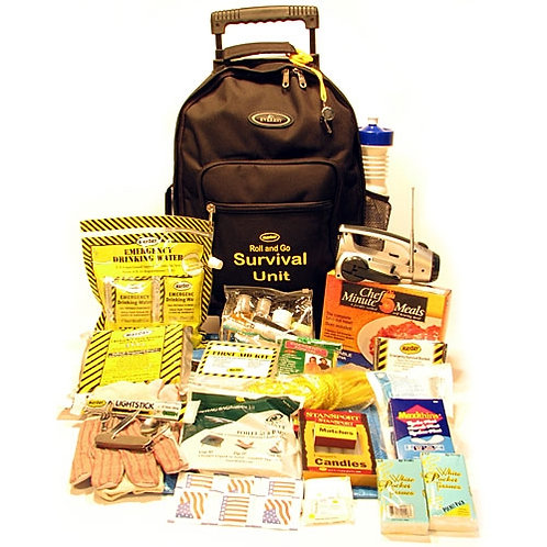 1 Person - Roll and Go Survival Kit