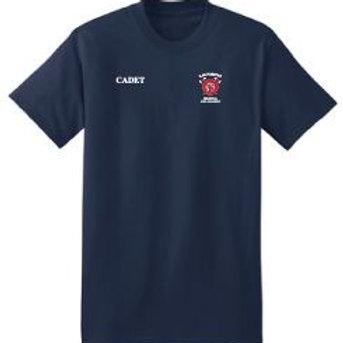 Las Positas Regional Fire Academy Short Sleeve Class T-shirt -Navy