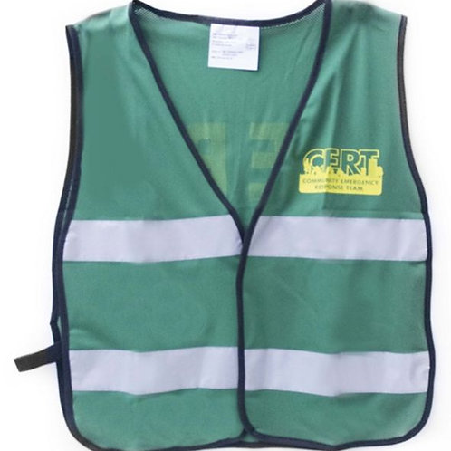CERT Vest - With Reflective Stripe / ONE SIZE FITS MOST