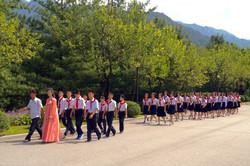 Северная Корея. Пионеры