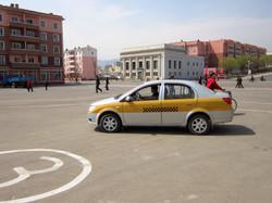 Северная Корея. Такси