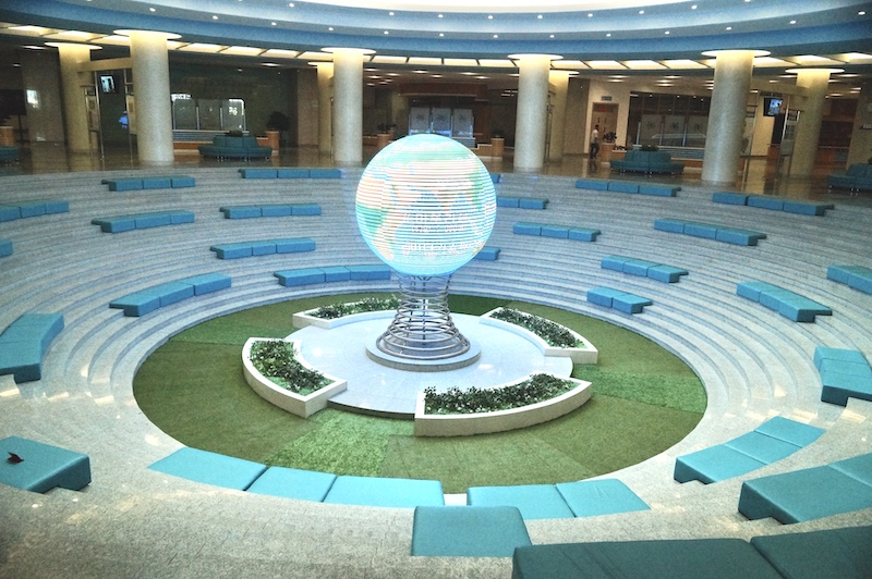 Пхеньян. Храм Науки и Техники.
