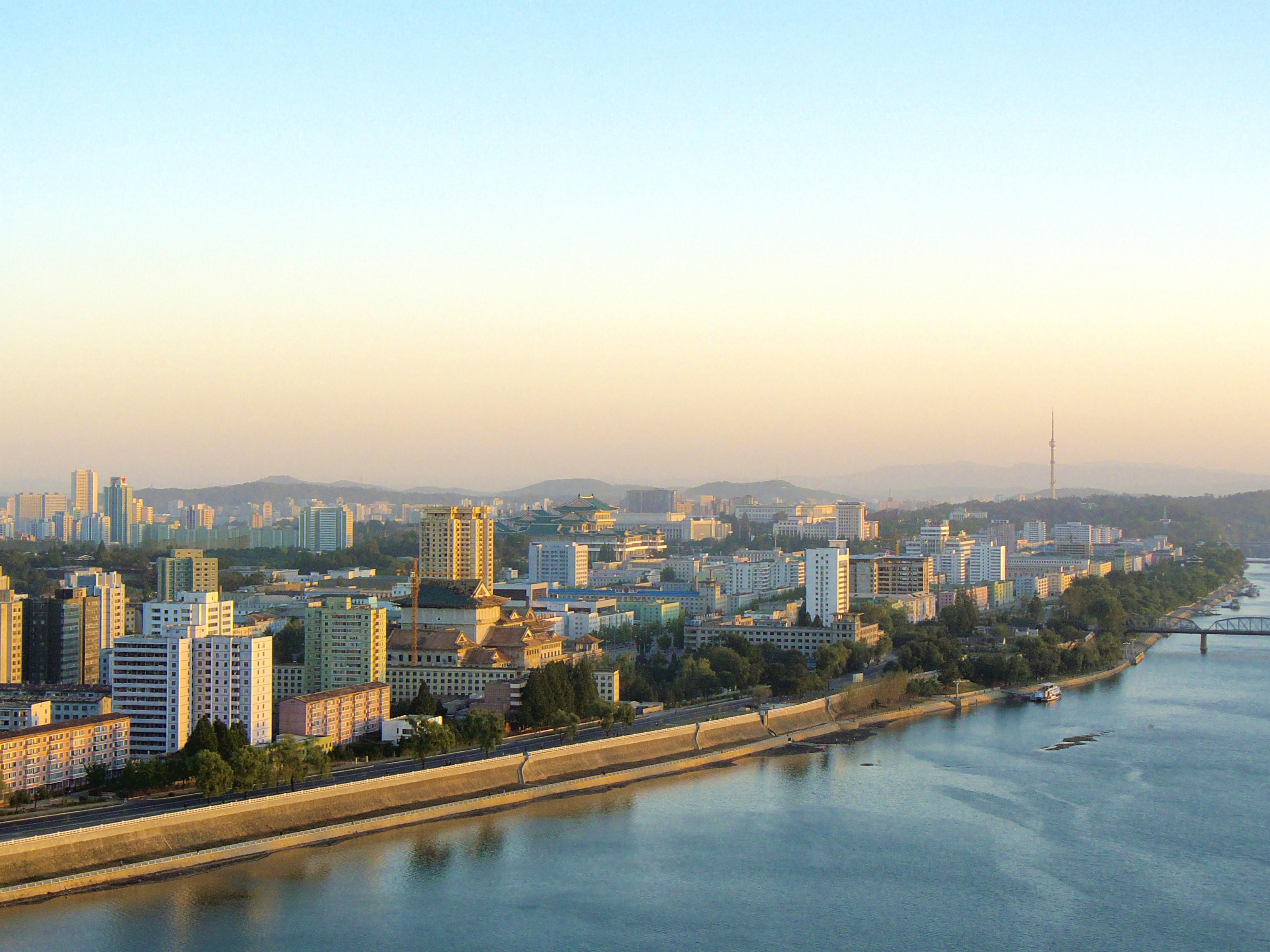 Северная Корея. Янгакдо