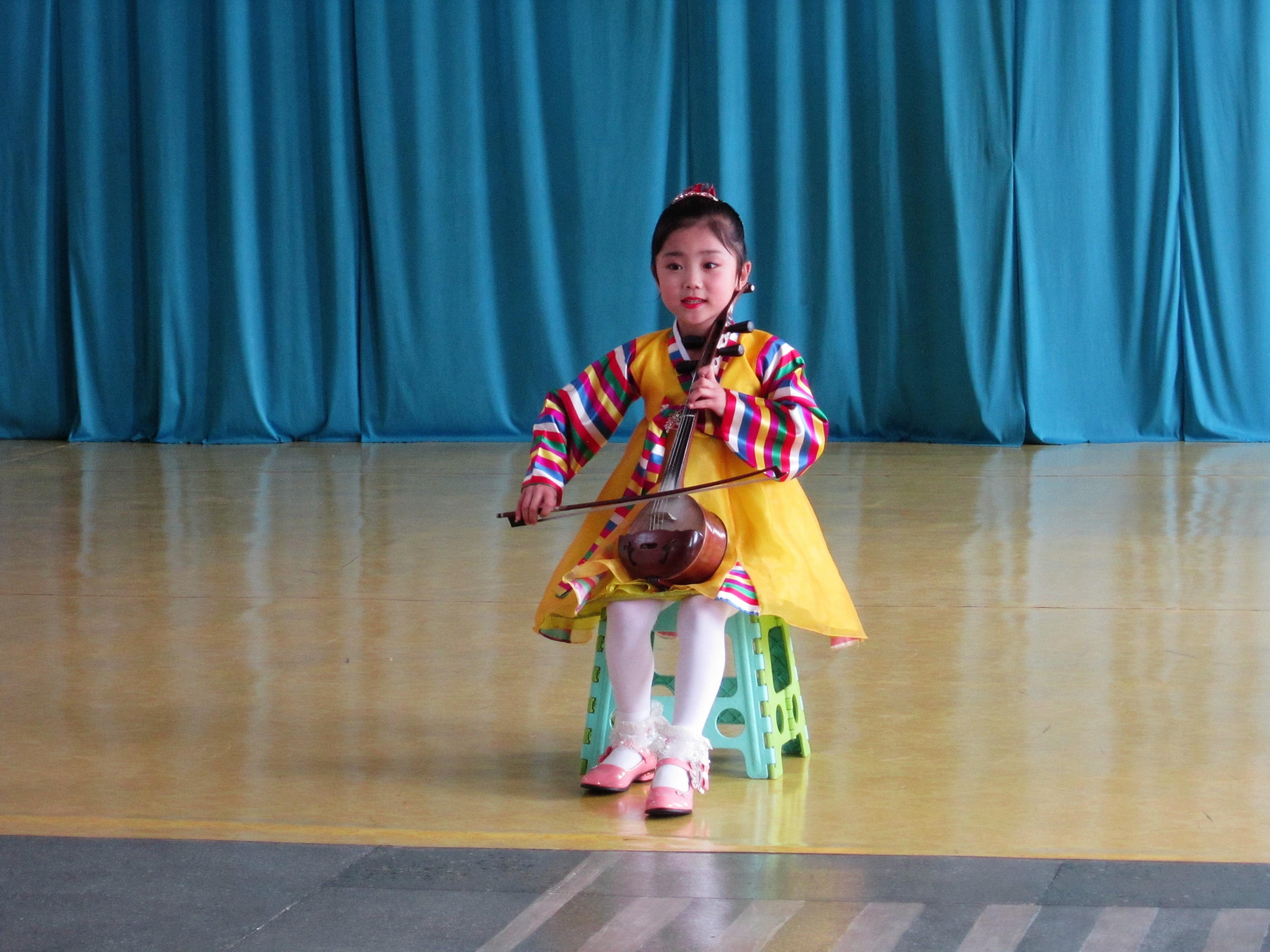Северная Корея. Концерт