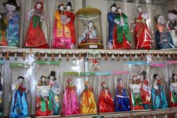 Северная Корея. Куклы