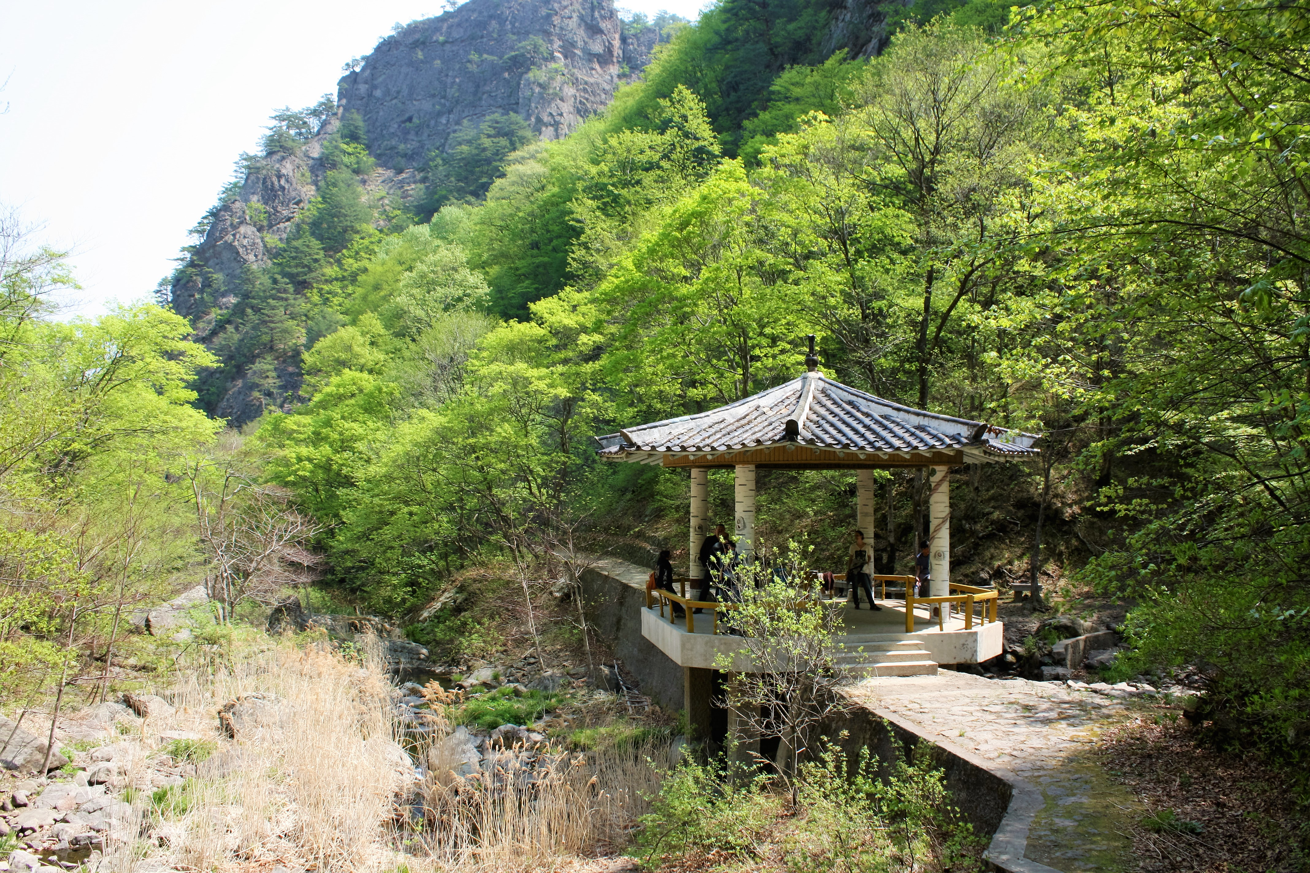 Северная Корея. Поездка в горы
