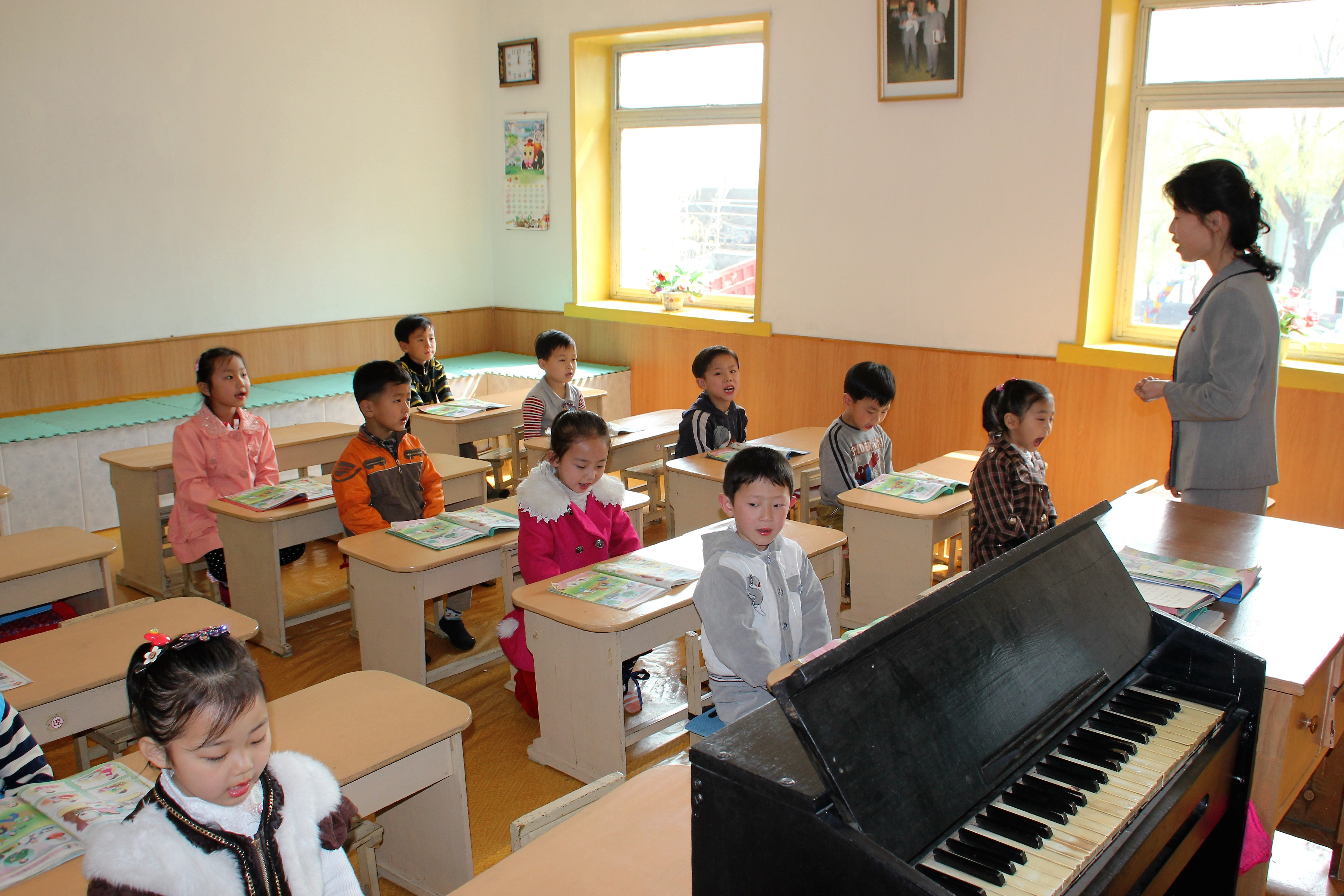 Северная Корея. Средняя школа