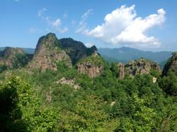 Северная Корея. Небо и горы
