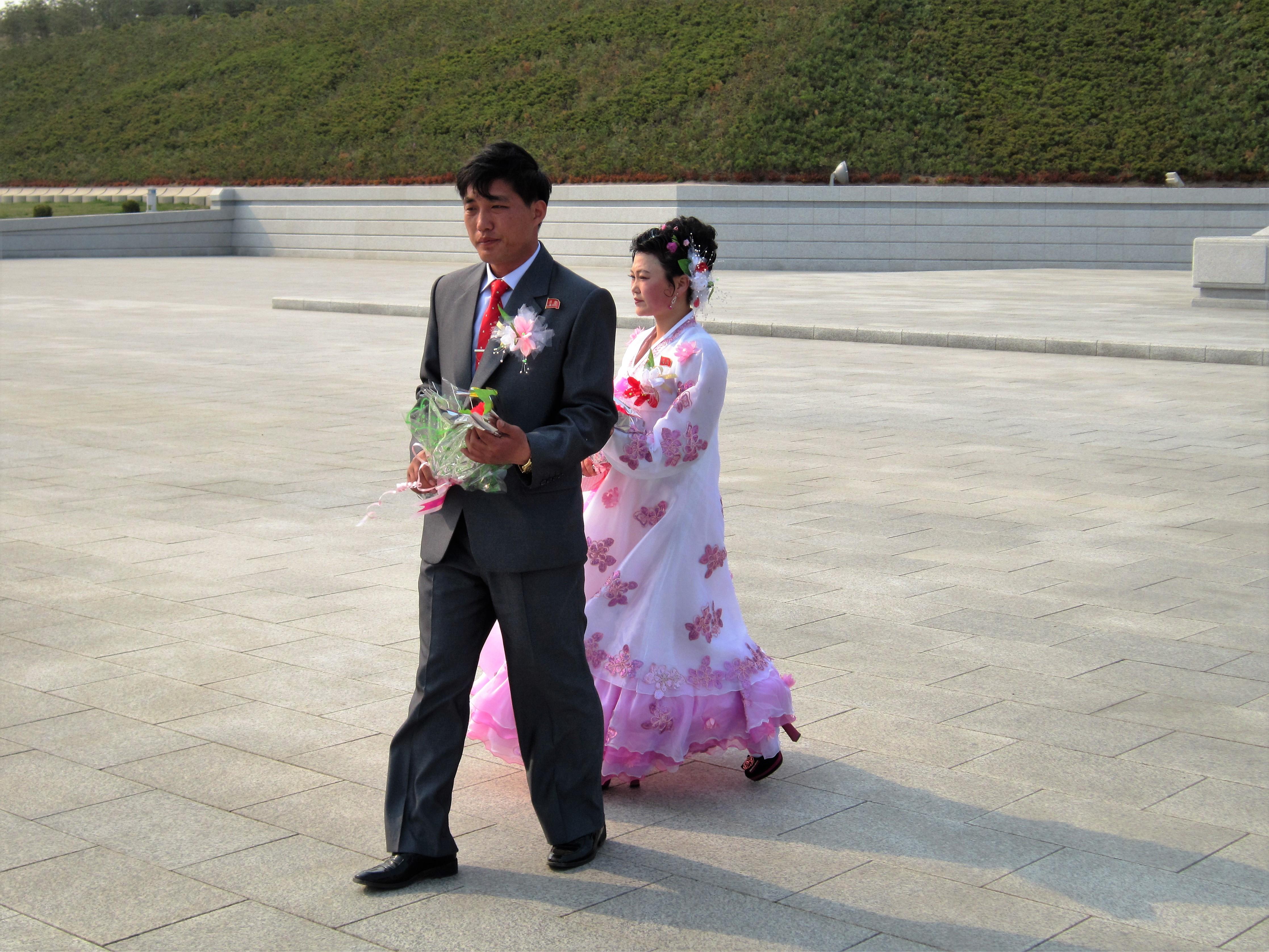 Северная Корея. Свадьба
