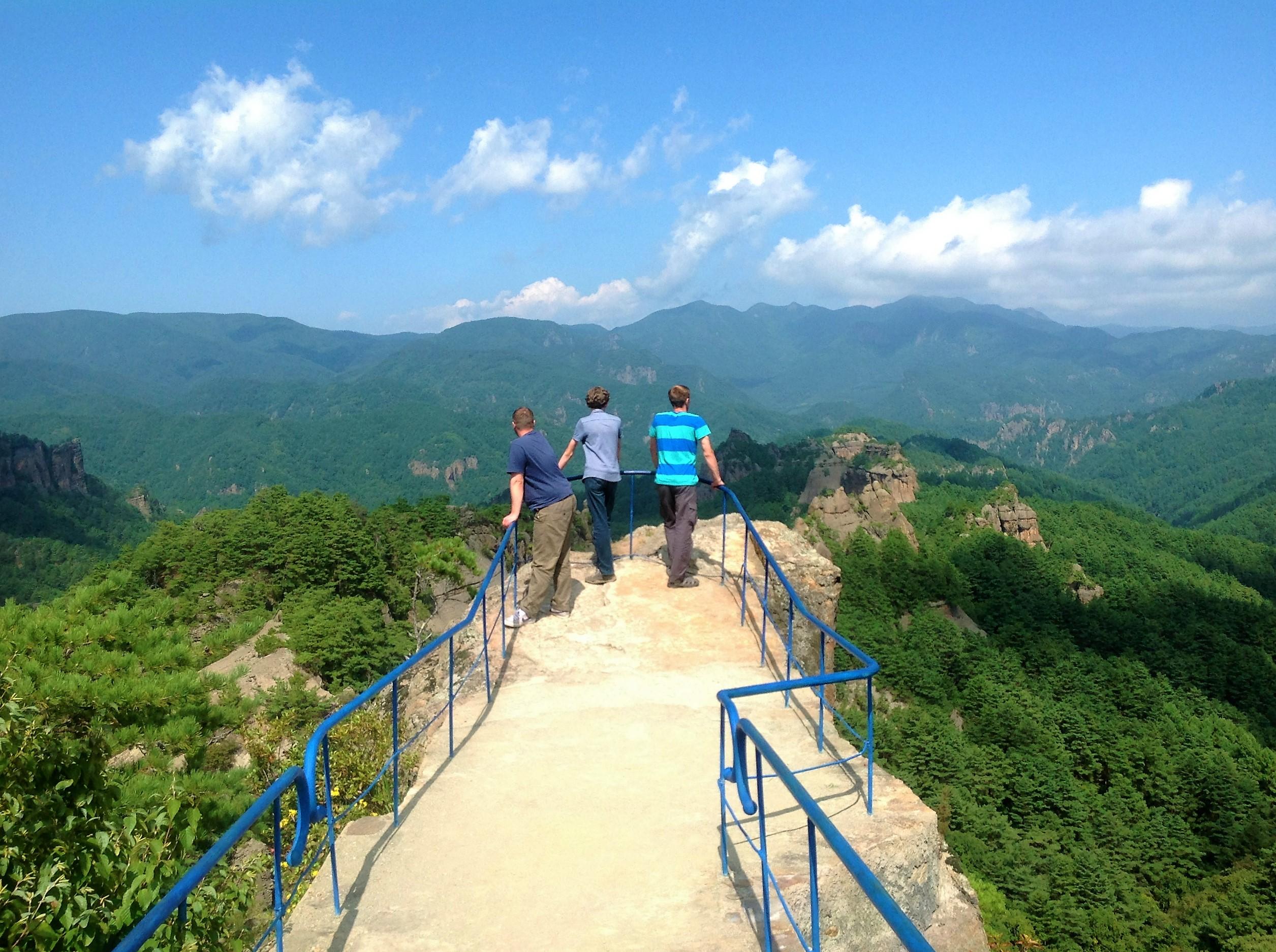 Северная Корея. Горы